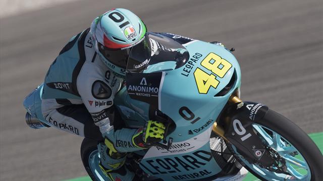 Dalla Porta vince la Moto3 in volata su Martin e Di Giannantonio, caduta di Bezzecchi