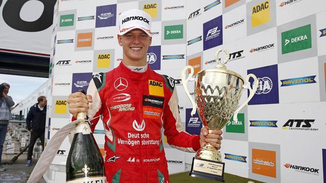 Mick Schumacher tient sa première couronne