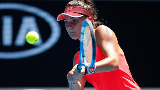La Française Clara Burel en finale — US Open (Juniors)