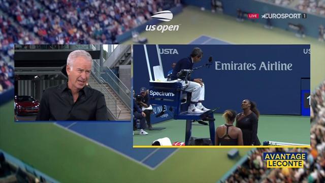 """McEnroe sur la polémique Williams : """"Un grand arbitre serait resté en dehors de ça"""""""