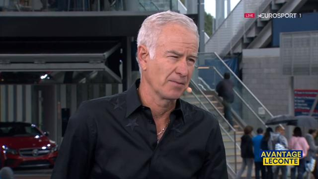 """McEnroe : """"Del Potro est un vrai revenant, je pense qu'il va gagner"""""""