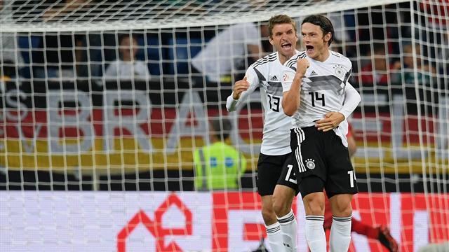 Pendant ce temps, l'Allemagne renoue avec le succès contre le Pérou