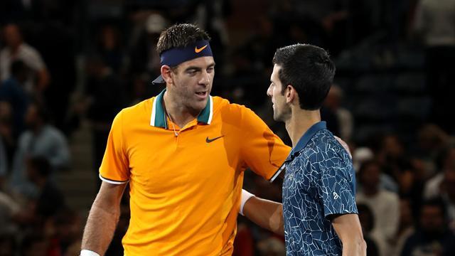 'Djokovic a magnificent idol and friend' - Del Potro