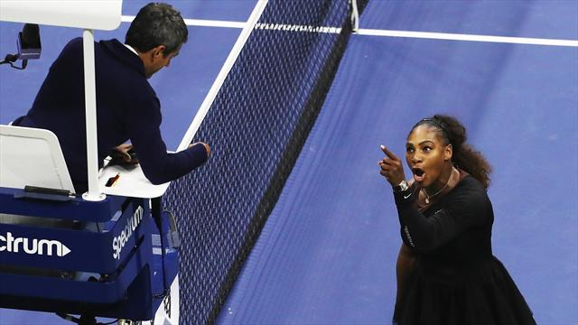 Umpires 'could boycott Serena Williams matches' after outburst