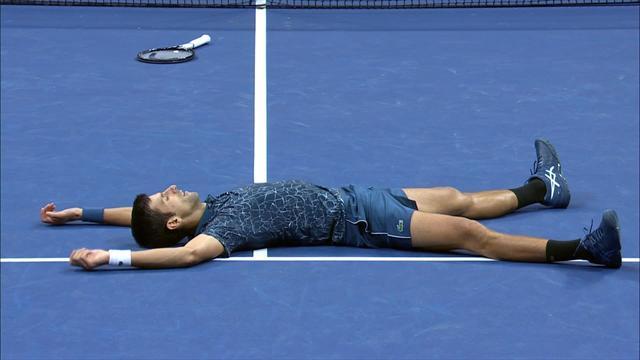 US Open 2018: Así cerró el partido un Novak Djokovic imparable