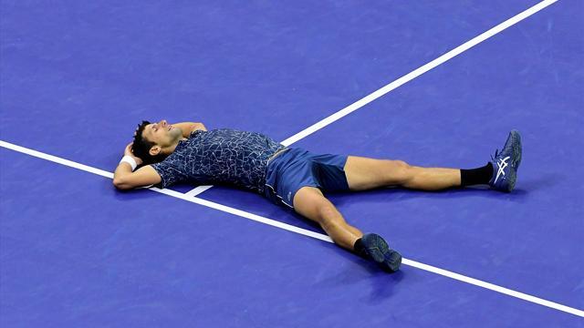 Höjdpunkter: Djokovic US Open-mästare i tre raka set
