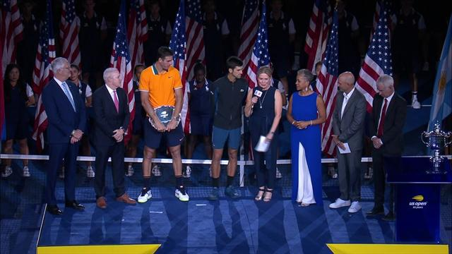 Djokovic hyllet motsanderen