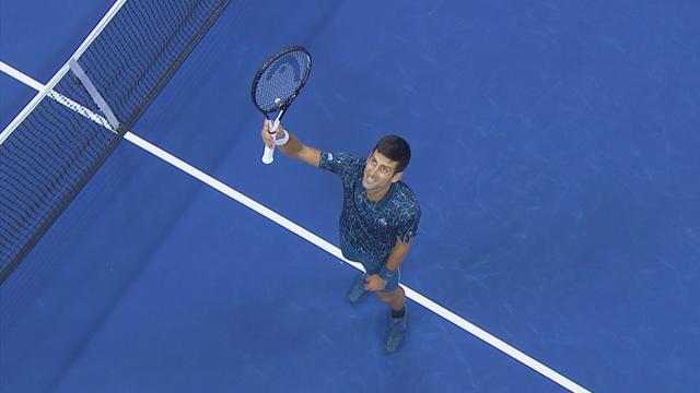 ABD Açık: Novak Djokovic - Juan Martin Del Potro (Özet)