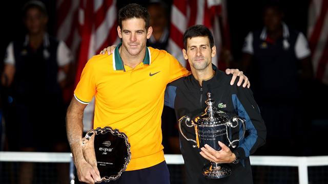 US Open 2018, Del Potro-Djokovic: Dos gigantes, una leyenda (3-6, 6-7(4) y 3-6)