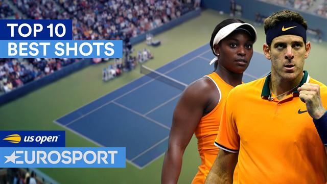 US Open: De ti bedste slag fra hele turneringen med imponerende detaljer fra Williams og Nadal