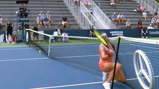 WATTS-Spezial zu den US Open: Vorsicht, Netz!