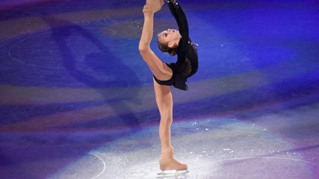 Eiskunstlauf: Russin Trusowa mit Rekord-Kombination