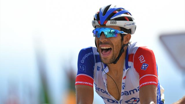 """Pinot: """"Volevo vincere un'altra tappa, sono felice del bis sui Pirenei"""""""