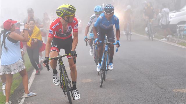 Deuxième victoire d'étape pour Thibaut Pinot sur le Tour d'Espagne