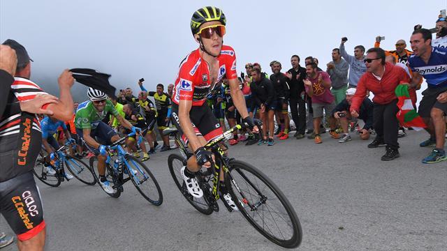 Simon Yates dal Giro alla Vuelta: stessa storia in maglia rossa per un finale differente