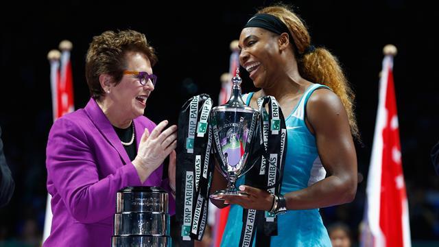 Billie Jean King y Serena Williams mezclan churras con merinas