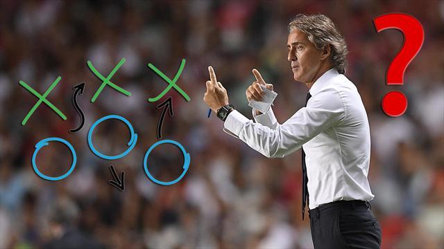 Le 5 verità che ci ha lasciato Portogallo-Italia: Mancini confuso, a centrocampo enormi problemi