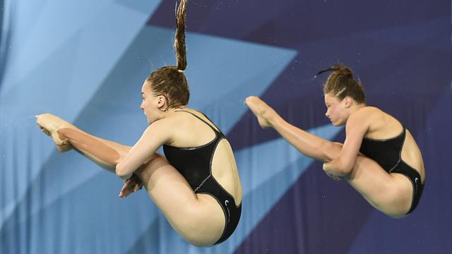 Wasserspringen: Punzel/Hentschel gewinnen EM-Silber