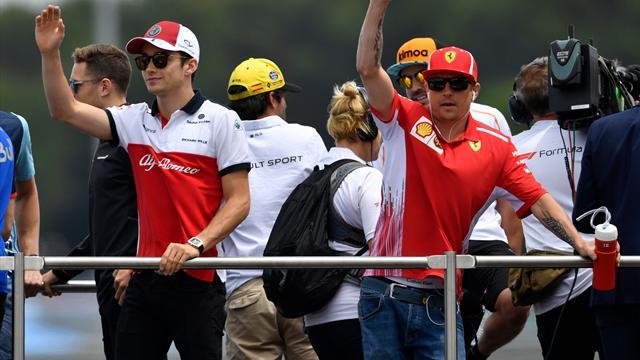 Charles Leclerc chez Ferrari en 2019 à la place de Kimi Räikkönen