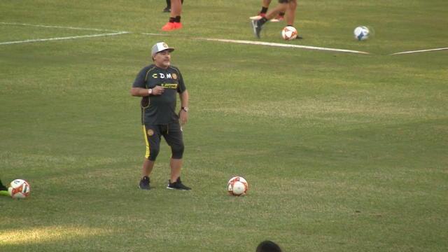 Mexique - Maradona de retour sur le terrain