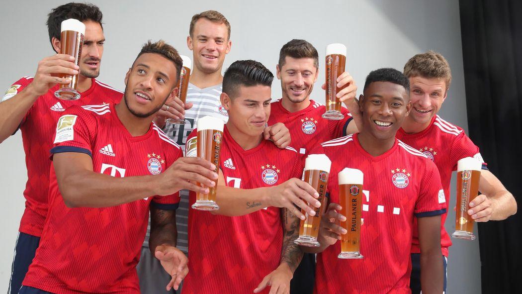 Fc Bayern Zwei Und Dreikampfe Im Kader James Und Tolisso