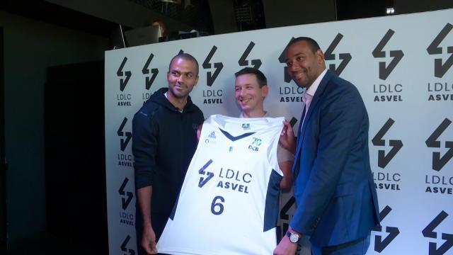 Tony Parker et l'ASVEL signent le plus gros contrat du basket français avec LDLC