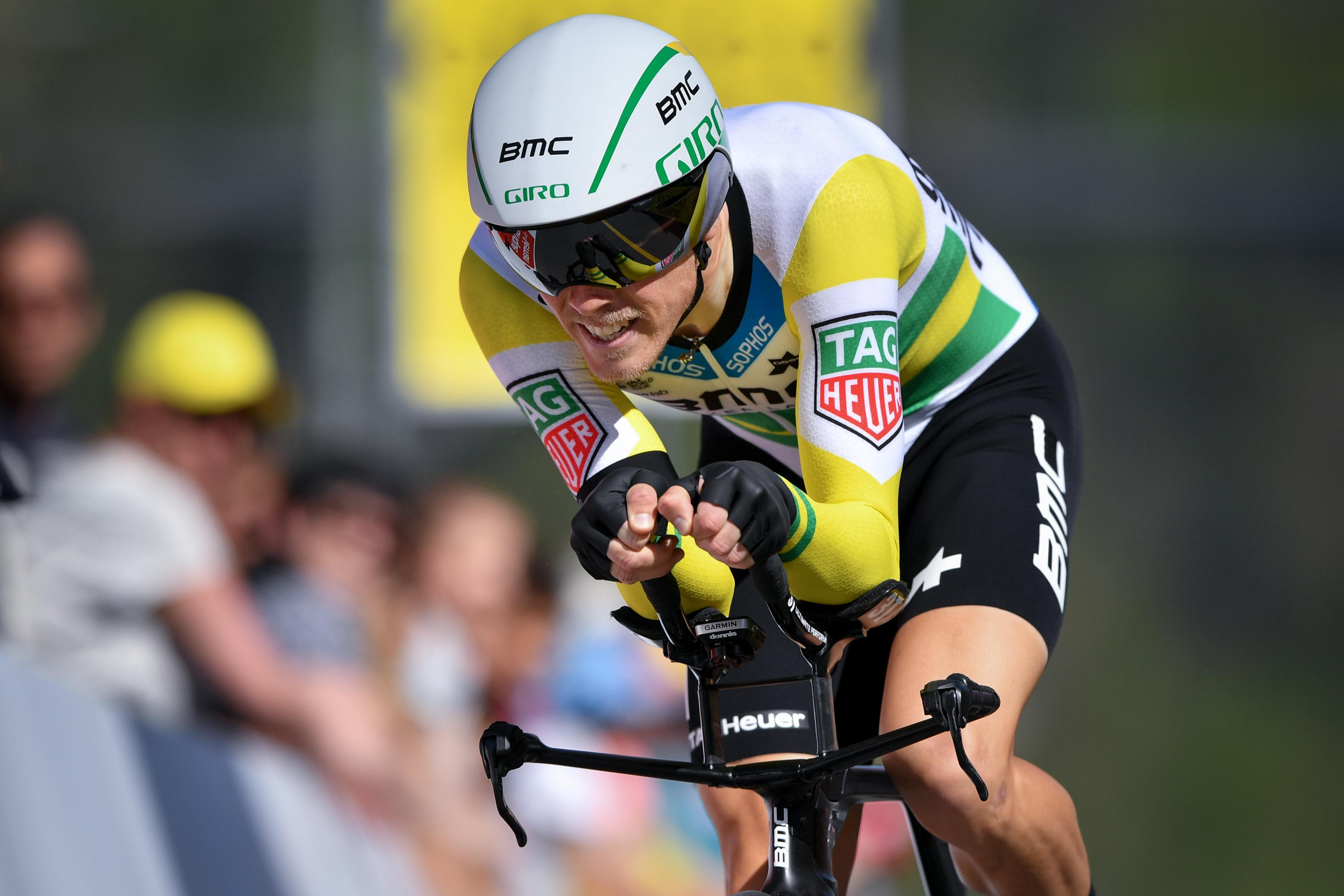 Rohan Dennis hat bei der Vuelta die 16. Etappe gewonnen