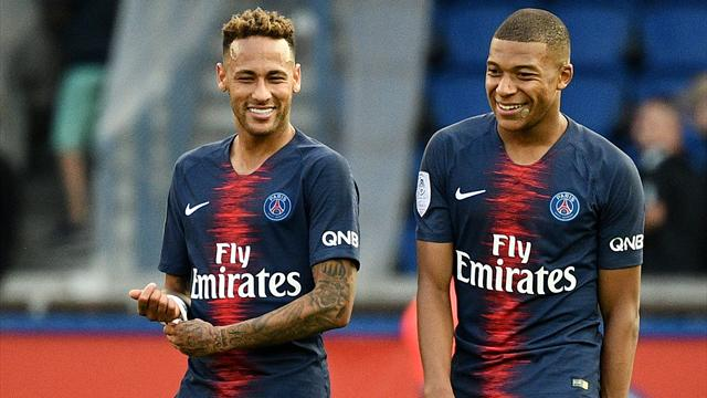 Messi's left foot, Neymar's right - Mbappe builds his perfect footballer