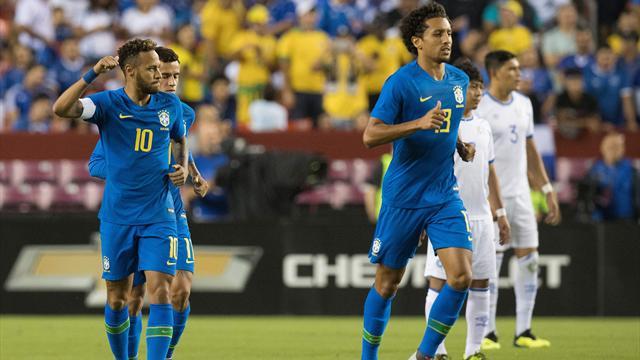 Le Brésil assure avec Neymar, l'Argentine rassure sans Messi