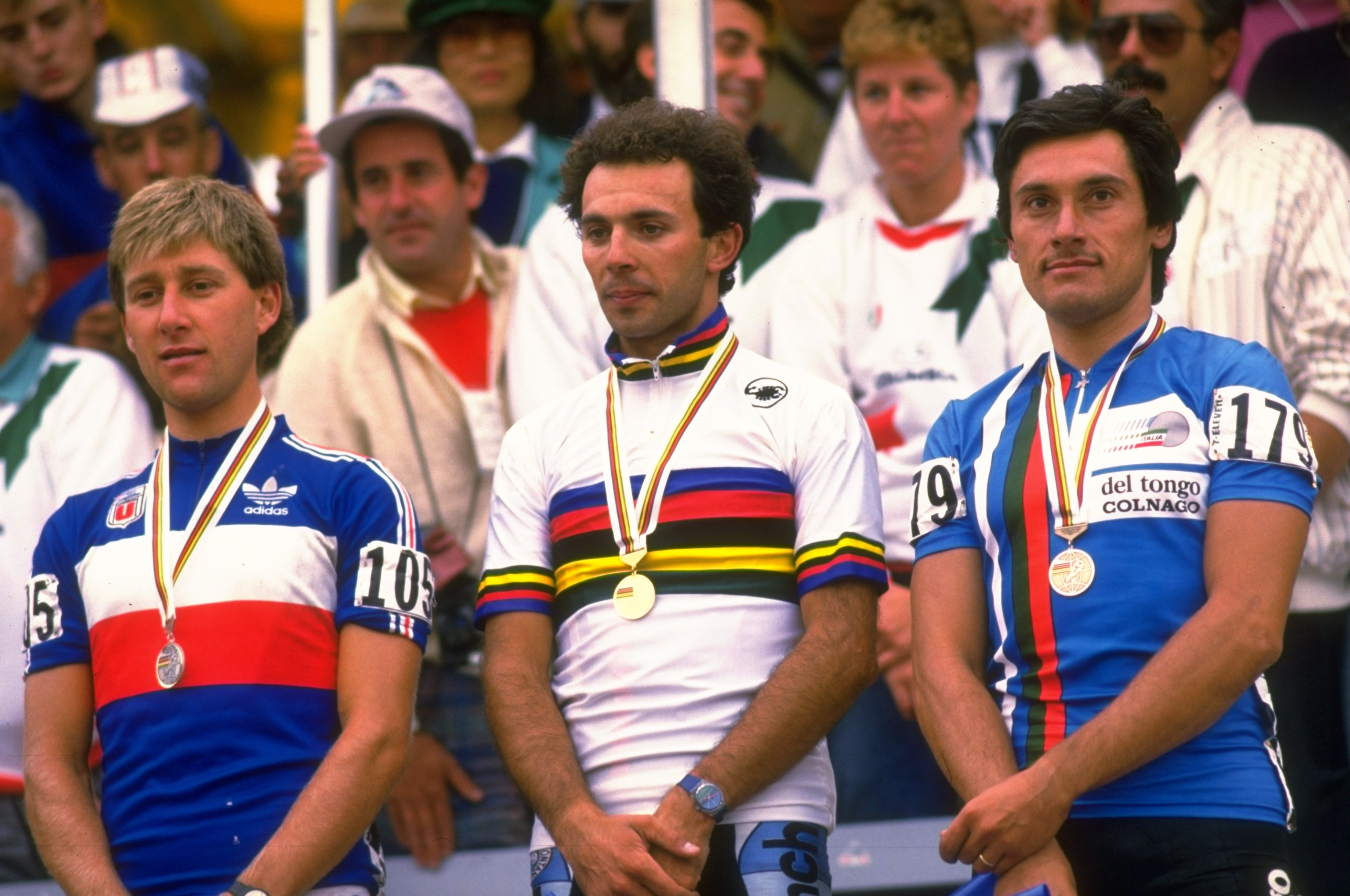 Italy's Moreno Argentin, winner of the 1986 World Championships at Denver, Colorado