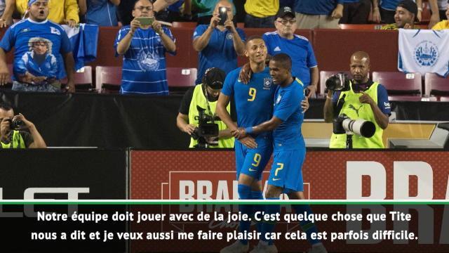 """Brésil - Neymar : """"Jouer pour le Brésil est un rêve"""""""