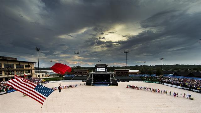 Les Jeux équestres mondiaux de Tryon sont officiellement ouverts