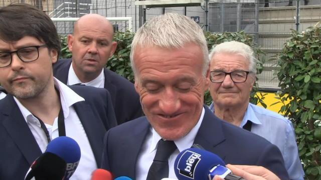 Bleus - Deschamps : ''Je suis content pour Vieira''