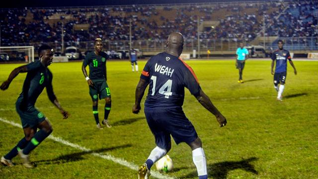 Improbable, George Weah a rejoué  avec le Liberia