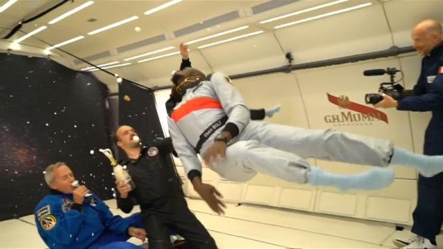 Même sans gravité, Bolt reste le plus rapide