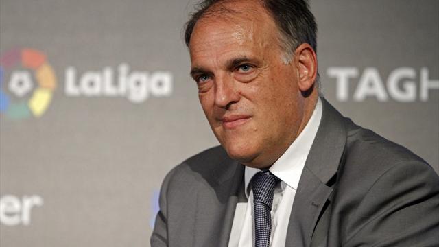 ⚽😲 Tebas anuncia que ha iniciado los trámites legales para que el Girona-Barça se juegue en Miami