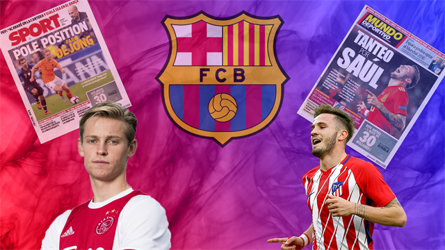 Euro Papers: Forget Saul, Barcelona's top priority is an Ajax star