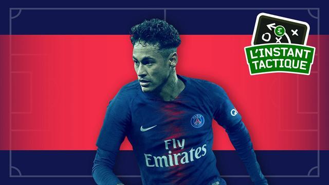 L'instant tactique : Neymar en 10, le premier coup de génie de Tuchel