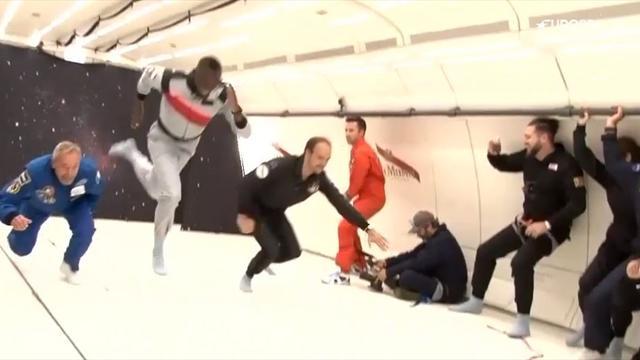 Usain Bolt: Verrückter Sprint gegen Astronaut