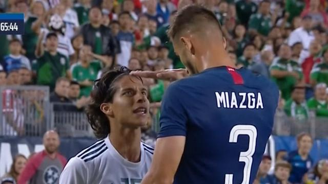 US defender mocks Mexican opponent's height – sparks big scuffle