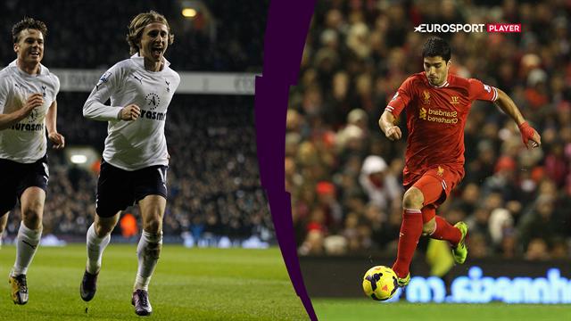 Top 5: Se historiens bedste mål fra Tottenham og Liverpools indbyrdes opgør