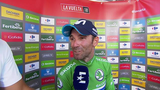 """Vuelta, Valverde: """"Era molto complicato provare lo sprint con tutti i velocisti presenti"""""""