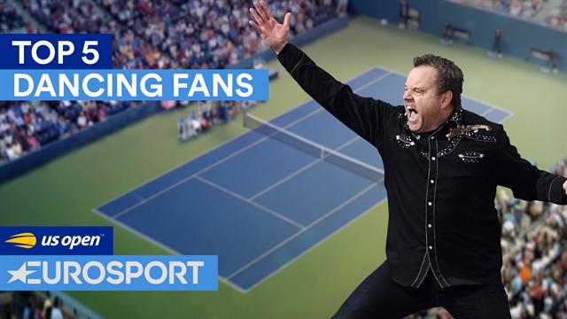 US Open 2018, Top 5: Los aficionados más bailongos