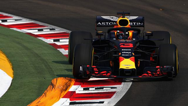 Ricciardo leads Red Bull one-two in practice one