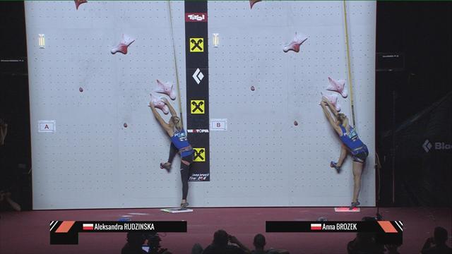 Speed climbing: Rudzinska edges Poland duel in world final