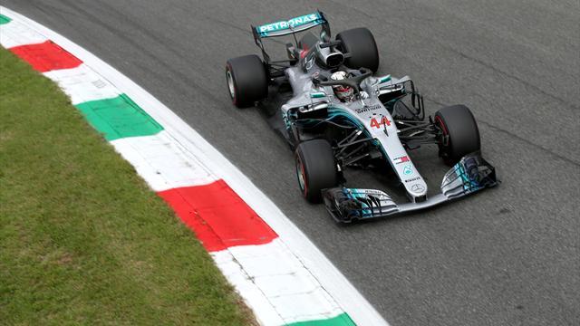 Red Bull zum Auftakt top, Mercedes mit Rückstand