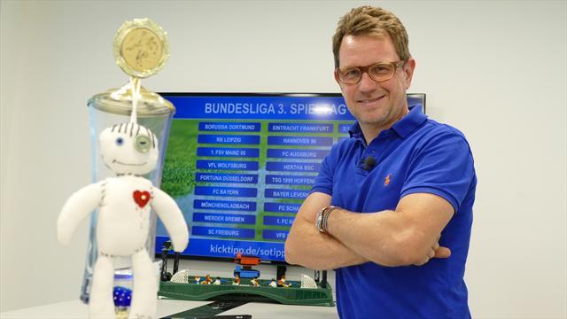#SotipptderBoss den 3. Spieltag: Dritte Pleite für Schalke und Leverkusen