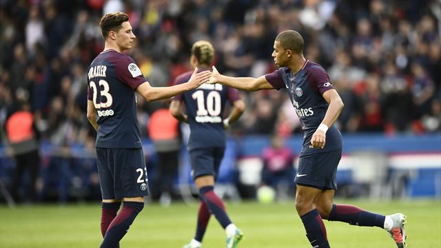 """Draxler schwärmt von Mbappé: """"Sowas habe ich noch nicht gesehen"""""""