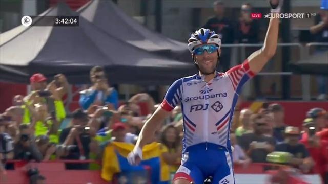 La Vuelta 2018: Simon Yates sentencia a Valverde y Pinot gana en La Rabassa
