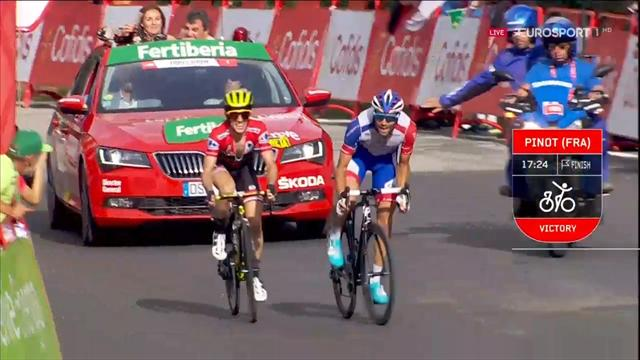 De hoogtepunten van etappe 19 in de Vuelta